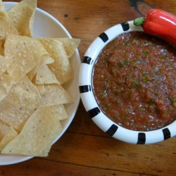 The Best Blender Salsa