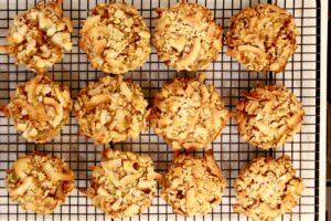 morning glory breakfast cookies rack
